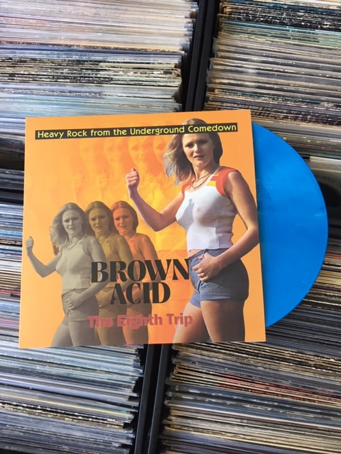 LP/CD - Various Artists - Brown Acid: The Eighth Trip - Heavy Rock From The  Underground Comedown